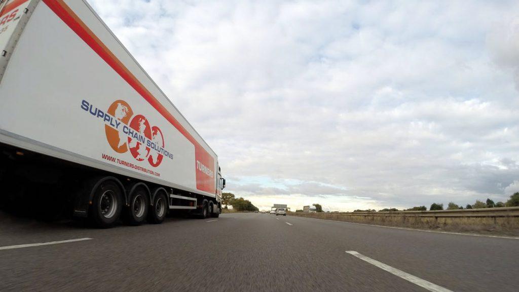 freight forwarding truck