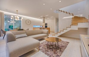 Living room with Italian Furniture made in Sydney