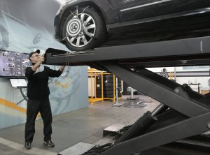mobile truck tyre changer