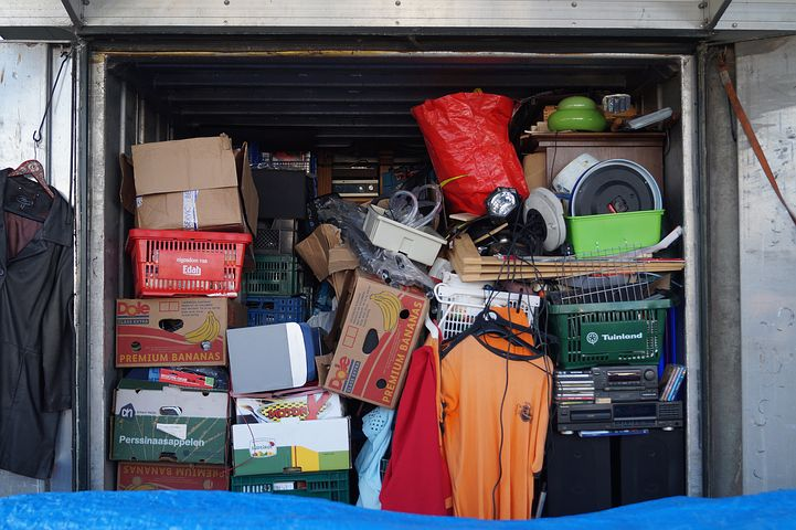 Wyong storage unit full of stuff