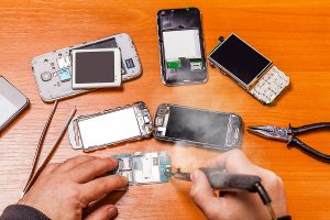 Same day phone repair service